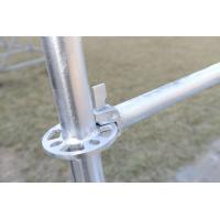 Steel Ringlock Scaffolding for Construction, Q345 Material, HDG