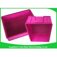 Cheap Mini Load Euro Containers With Lids , Standard Plastic Stacking Boxes PP Materials for sale