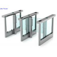 Cheap Full Automatic Supermarket Swing Gate High Security Waterproof Intelligent Turnstiles for sale