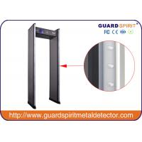 Cheap 5.7 Inch LCD Screen Multi Zone Walk Through Security Scanners AC85V~264V / 50-60HZ for sale