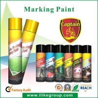Buy cheap Custom Tree spray marking paint For Wood , Fast Drying And High Spray Rate from wholesalers