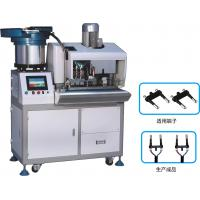 Buy cheap Euro 2 pin Automatic plug strip and insert machine from wholesalers