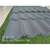 Cheap Colorful Stone Chip Coated Metal Roof Tiles / Steel Roofing Tile Sheet For Philippines for sale