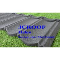 Cheap Roman Style Stone Coated Steel Metal Roofing Tiles Shingles with SONCAP for sale