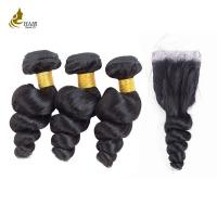 Cheap Free Tangle Real Malaysian Hair Weave Bundles 8a 1b 8 - 32 Inch No Mixture for sale