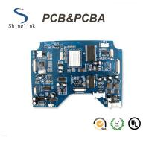 Blue soldermask pcb assembly pcba for heat pump controller board