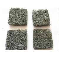 Cheap Custom 304 Stainless Steel Knitted mesh Airbag Filter , Compressed Knitted Wire Mesh for sale