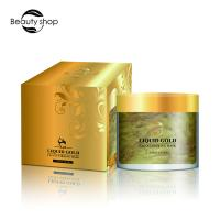 Quality Beauty Cosmetics 24 Karat Gold Co2 Face Mask For Skin Care OEM / ODM wholesale