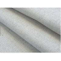 Quality 55/45 LINEN COTTON FABRIC BLENDED PLAIN DYED  WITH SOLID COLOUR CWT#4238 for sale