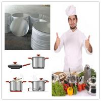 Spinning Cookware Aluminium Disc / Circle 1050 1060 1100 3003 For Kitchenware