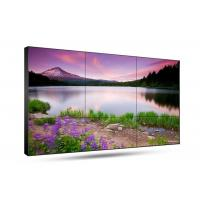 4K Resolution Seamless Monitor Wall , Large 55 Inch 3.5mm Seamless LCD Monitor