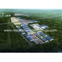 Cheap Multi Storey Prefab Workshop Buildings Kits With Q235b Steel Structure for sale