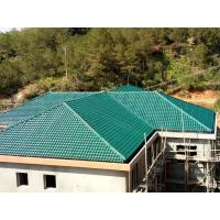 Cheap 1050mm width Acoustic Corrugated Pvc Roofing Sheets For Villa / Hotel for sale