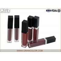 Quality Matte Lip Plumping Lip Gloss , Flavored Lip Gloss Makeup Base Function wholesale