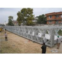 Galvanized Military Floating Bridge Highly Mobile Army Temporary Bridge