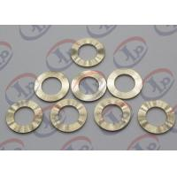 Cheap Precision CNC Machining Services , Brass Flat Washers with Ra 1.6 Roughness for sale
