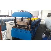 Cheap Roof Panel Standing Seam Roll Forming Machine With Rib And Electrical Seaming Machine for sale