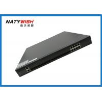 High Speed Lightweight 10G GPON OLT , 8 Port GPON OLT 440mm