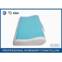 Quality Pure Comfort Luxry Gel Memory Foam Cooling Bed Pillow For Home Bedding / Hotel wholesale