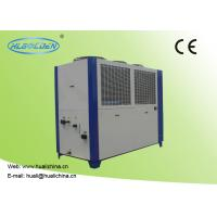 Cheap Air Cooled Industrial Water Chiller Sheet Metal Housing Printed High Efficient Compressor With CE for sale