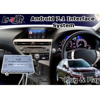 Android 7 1 Video Interface For 2017 Lexus Rx 270 Mouse Control Gps