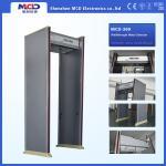 Cheap Waterproof Door Frame Metal Detector 6 Zones Knife Dun detection machine for sale