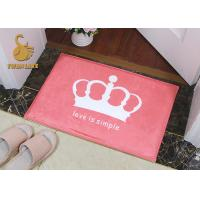 Multi Colors Outdoor Floor Rugs Dustproof With Short Plush Chenile Material