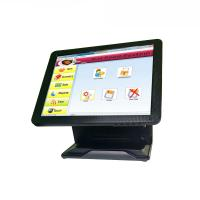 Cheap Pure Flat All In One POS Terminal Tablet Cash Register System Fast Heat Dissipation for sale