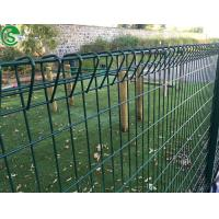Nice looking Rolled top BRC welded wire mesh fence malaysia for or