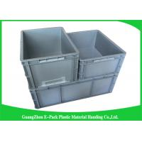 Cheap Standard Plastic PP Industrial Storage Bins , Reusable Plastic Stacking Boxes for sale