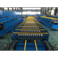 Cheap 25 Stations Roof Panel Roll Forming Machine Coil Width 1000mm High Productive for sale