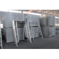 Buy cheap European Style Anti Rust Ladder Scaffolding Systems H Frame Steel Q235B Material from wholesalers