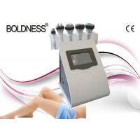 Cheap Portable 5 IN 1 Cavitation Rf Vacuum Machine , Skin Tightening / Weight Loss Machine for sale