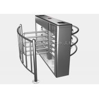 Cheap Entrance Security Barrier Turnstile Gate With Card Reader , Visitors Access Control for sale