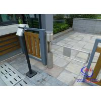 RFID / IR Sensor Cylinder pedestrian barrier gate For Residential Community