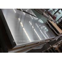 Hairline 316 Stainless Sheet / Stainless Steel Grade 316l Customized Surface Finish