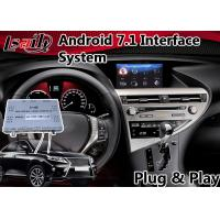 Android 7 1 Interface Navigation Box For 2017 Lexus Rx 450h Mouse Control Images