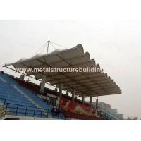 Cheap Aluminum Window Prefabricated Steel Structures Round Steel Brace For Stadium for sale