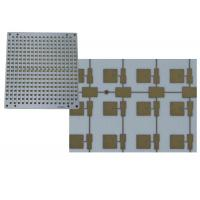 gold plated 4 layer rogers laminate stack up with fr4 multilayer pcbgold plated 4 layer rogers laminate stack up with fr4 multilayer pcb circuit