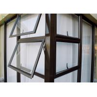 Cheap Residential Aluminum double Awning Window Customized Deocration for sale