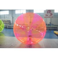 Commercial Grade Inflatable Water Ball , Aqua Ball For Rental Business
