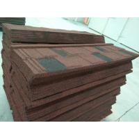 Cheap Stone Coated Metal Roof Tile / Aluminium Zinc Roofing Shingle / Colorful Sand Coated Steel Roof for sale