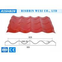 Classic Colourful Metal Roof Sheet / Color Glazed Tile Galvanized Roll Forming Products