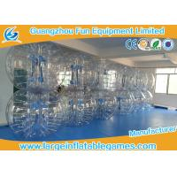 Commercial Grade Plato Inflatable Zorb Ball , Human Inflatable Bumper Bubble Balls
