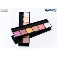Cheap OEM ODM cosmetics 6 color eye shadow, professional makeup eyeshadow palette for sale