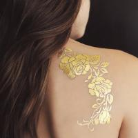 Gold Foil Tattoo for sale - goldfoiltattoo