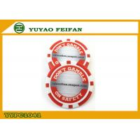 Cheap Red / White Custom Poker Chips Customize Your Own Poker Chips for sale