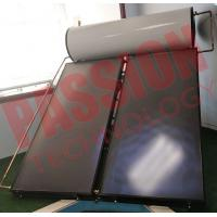 Cheap Integrated Pressurized Flat Plate Collector Solar Water Heater Copper Aluminum Material for sale