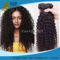 Cheap Brazilian Kinky Curly 100% Malaysian Virgin Hair Extensions 8  -  32Inches for sale