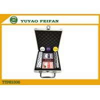 Travel Promotional Poker Chips Sets With Aluminum Case Traveling